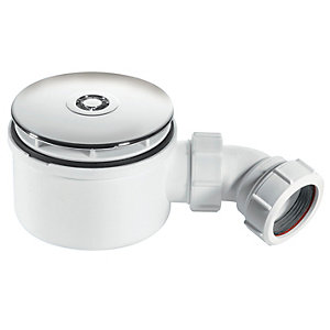 McAlpine ST90CP10-70 - Shower Trap - Chrome - 38mm