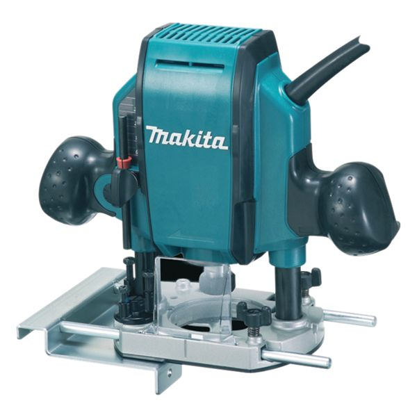 Makita 1/4in Corded Plunge Router 240V - 900W