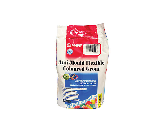 Mapei Anti-Mould Flexible Coloured Grout White 5kg