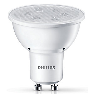 Image of Philips LED Non-dimmable Spotlight Bulb - 3.5W GU10 - Pack of 3