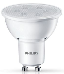 Philips LED Non-dimmable Spotlight Bulb - 3 5W GU10 - Pack of 3