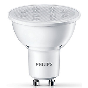 Philips LED Non-dimmable GU10 Light Bulbs - 5W Pack of 3