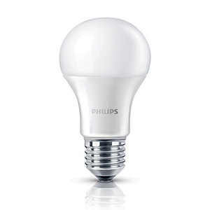 Philips LED GLS Non-dimmable Light Bulbs - 9W E27 - Pack of 3