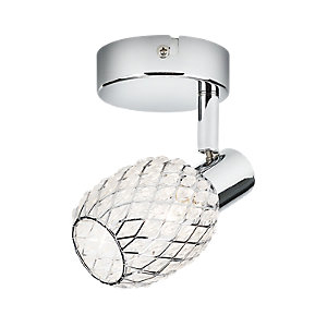 Philips Deltoid Polished Chrome Single Spotlight - G9