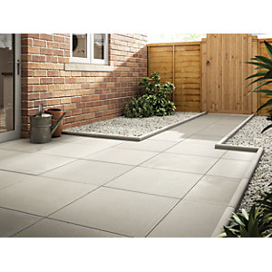 Marshalls Richmond Smooth Natural Paving Slab 600 x 600 x 38 mm