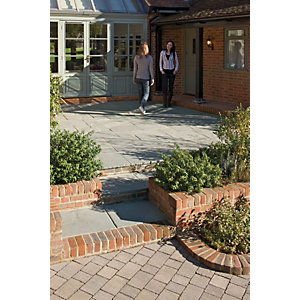 Marshalls Coach House Riven Heathland Paving Slab Mixed Size Pack B - 9.7 m2 pack