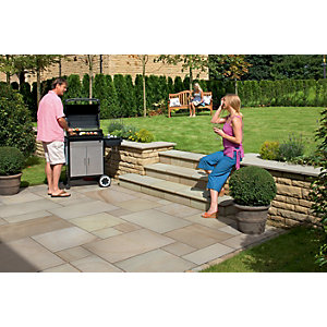 Marshalls Fairstone Smooth Autumn Bronze Paving Slab 275 x 560 x 22 mm - 18.5m2 pack