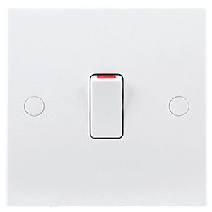Image of BG 20A Double Pole Control Switch White