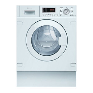 NEFF V6540X1GB Integrated Washer Dryer in White
