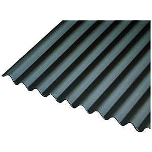 Image of Onduline 3mm Black Corrugated Bitumen Sheet 950 x 2000mm