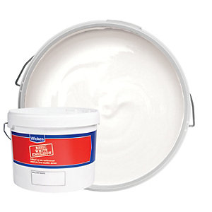 Wickes Basic Matt Emulsion Paint - Brilliant White 10L