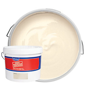 Wickes Basic Matt Emulsion Paint - Magnolia 10L
