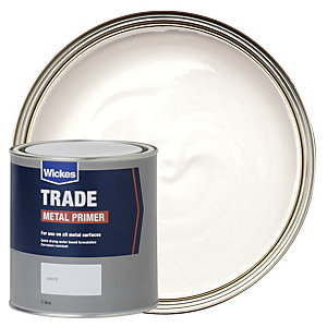 Wickes Trade Metal Primer - White 1L