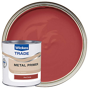 Wickes Trade Metal Primer Red Oxide 1L