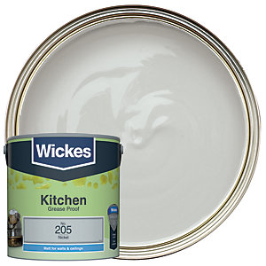 Wickes Nickel - No. 205 Kitchen Matt Emulsion Paint - 2.5L