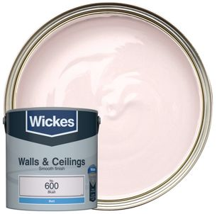 Wickes Colour Home Vinyl Matt Emulsion Paint Blush 2 5l Co Uk