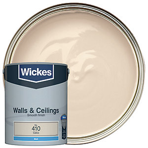 Wickes Calico - No. 410 Vinyl Matt Emulsion Paint - 5L