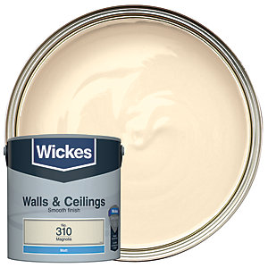 Wickes Magnolia - No. 310 Vinyl Matt Emulsion Paint - 2.5L