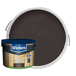 Wickes Shed & Fence Timbercare - Chestnut Brown 9L