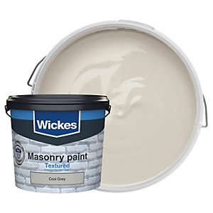 Wickes Masonry Textured Cool Grey 5L