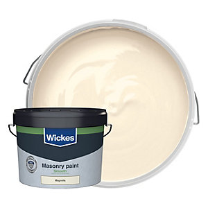 Wickes Masonry Smooth Magnolia 10L