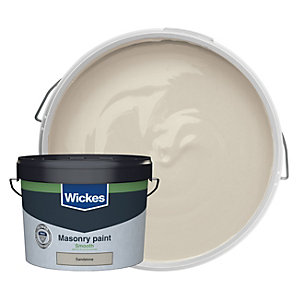 Wickes Masonry Smooth Sandstone 10L