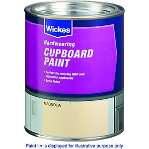 Image of Wickes Cupboard Paint - Stoneware 750ml