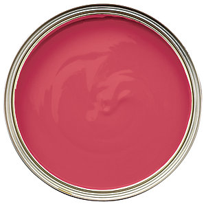 Wickes Non-Drip Matt Paint - Scarlet Letter 750ml