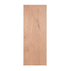 Wickes Lisburn Plywood Flushed 1 Panel Intenal Door - 1981mm x 610mm
