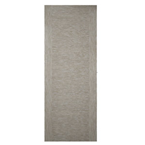 Wickes Milan Internal 2 Stile Light Grey Real Wood Veneer Door - 1981 x 686mm