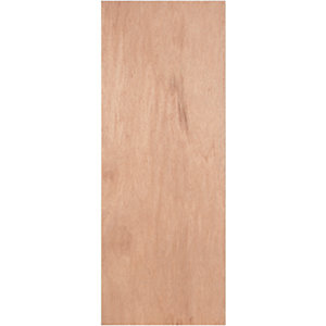 Wickes Lisburn Plywood Flushed 1 Panel Internal Door - 1981mm x 838mm
