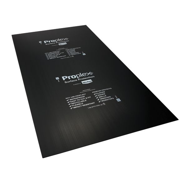 Proplex Black Surface Protection Sheet