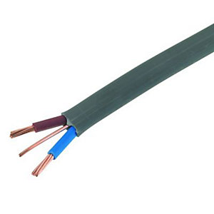 Wickes Twin & Earth Cable - Grey 6.0mm2 x 16.5m