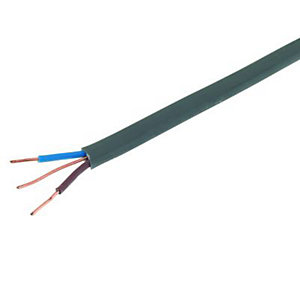 Wickes Twin & Earth Cable - 1.0mm2 x 50m