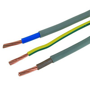 Wickes Meter Tails & Earth Cable - 25mm2 x 1m