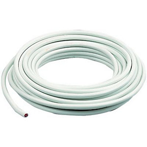 Wickes Coaxial Cable - White 10m
