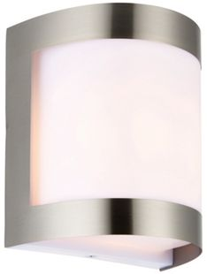 Wickes dundee brushed chrome wall light 60w wickes aloadofball Images