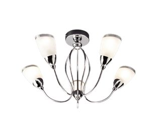 Wickes abora semi flush ceiling light wickes aloadofball Image collections