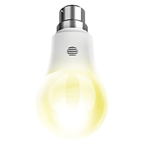 Hive Active LED Dimmable White B22 Light Bulb - 9W