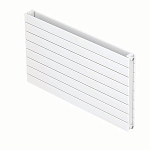 Image of QRL Marano Double Panel Flat Radiator - White 578 x 1400 mm