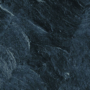 Wickes Bathroom Worktop - Welsh Slate Gloss 600mm