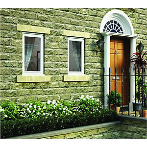 Wickes White Timber Casement Window - RH Side Hung 1195 x 625mm