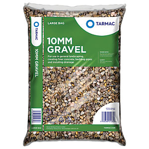Image of Tarmac 10mm Gravel Pea Shingle - Major Bag