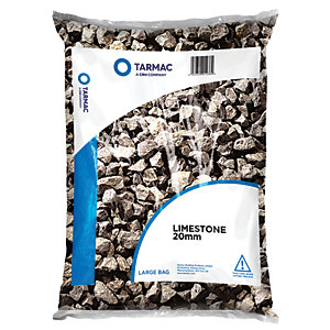 Image of Tarmac 20mm Limestone Chippings - Major Bag
