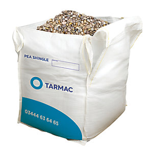 Image of Tarmac 10mm Gravel Pea Shingle - Jumbo Bag