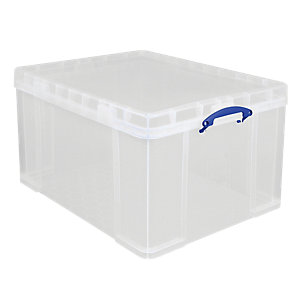 Image of Really Useful Clear Storage Box - 145L