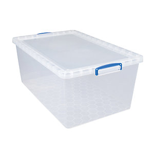 Image of Really Useful Clear Value Storage Box - 33.5L
