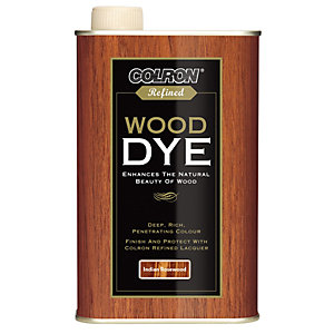 Ronseal Colron Refined Wood Dye Indian Rosewood 250ml