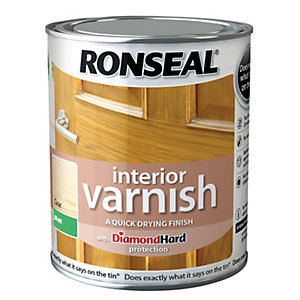 Ronseal Interior Varnish - Matt Clear 250ml
