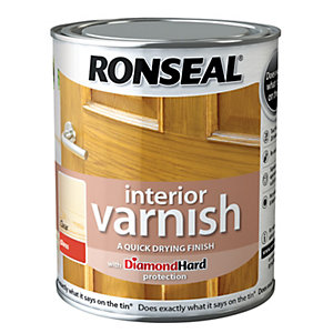 Ronseal Interior Varnish - Gloss Clear 250ml
